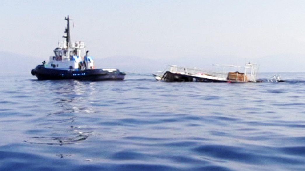 Migrants : au moins 22 morts dans un nouveau naufrage en mer Egée