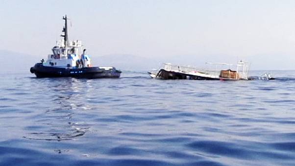 At least 22 dead, hundreds rescued, as migrant boat capsizes near Turkey