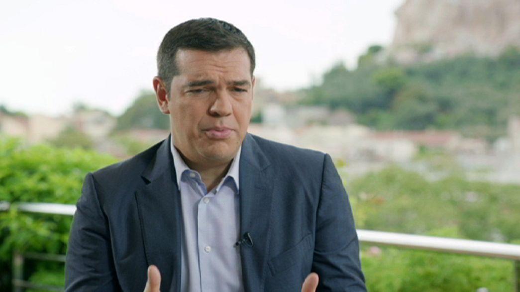 """Tsipras: """"Tomé decisiones difíciles, pero siempre con la conciencia tranquila"""""""
