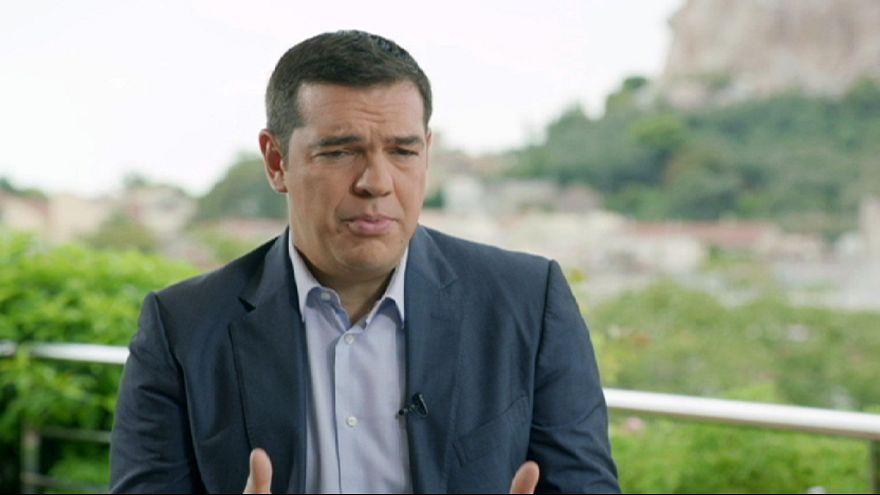 """Tsipras: """"Ich habe mich oft gefragt, ob Griechenland am nächsten Morgen noch steht"""""""