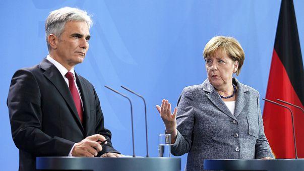 Alemania y Austria proponen una nueva cumbre europea el día 21 para resolver la crisis de los refugiados
