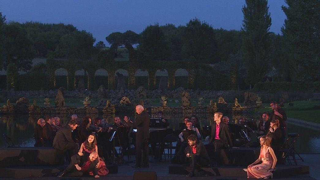 En el jardín de William Christie revive la música barroca