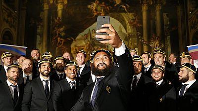 Rugby-WM: Die Franzosen sind da
