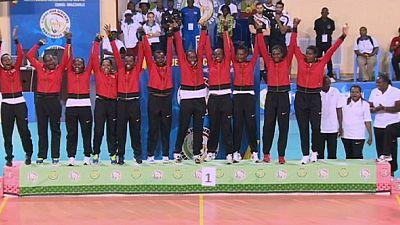 Final de 100 metros en los Juegos Africanos