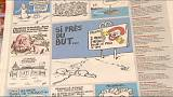Charlie Hebdo criticised for cartoon 'mocking drowned Syrian boy'