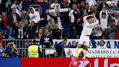 Ronaldo hits a hat-trick in the Champions League as both Manchester clubs suffer defeat