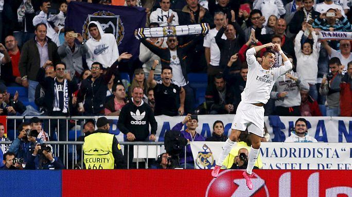 Champions League: Famoser Ronaldo, schwache Gladbacher