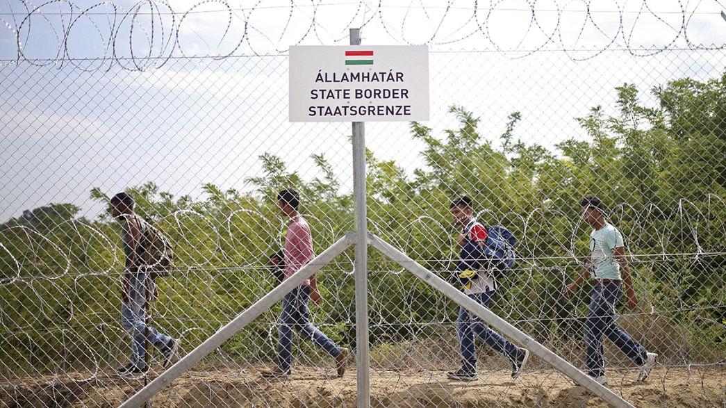 لاجئون يتوجهون إلى كرواتيا بدل المجر للعبور نحو أوروبا