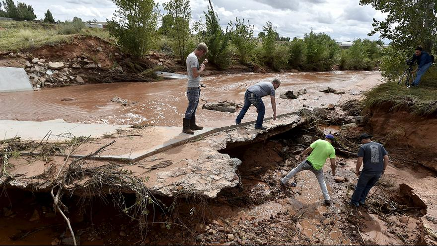 Utah: flash flooding claims at least 15 lives