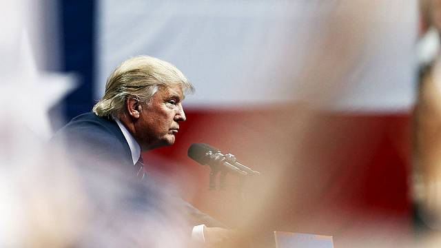 US Republican presidential candidates slug it out in marathon debate