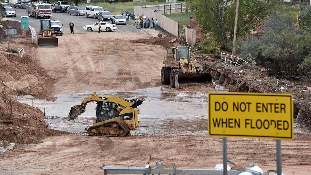 US floods: At least 16 dead in Utah