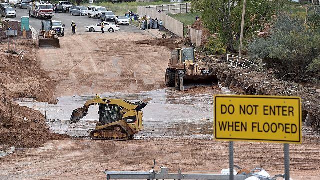Áradások pusztítanak Utah és Arizona államban