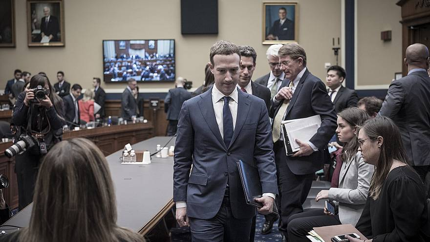 Image: Mark Zuckerberg appears before the House and Energy Committee in Was