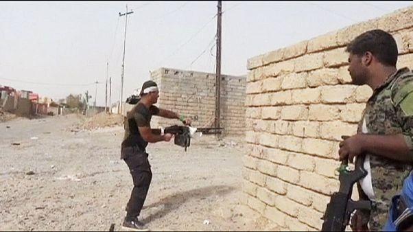 Στο μέτωπο της μάχης με τους τζιχαντιστές στο βόρειο Ιράκ