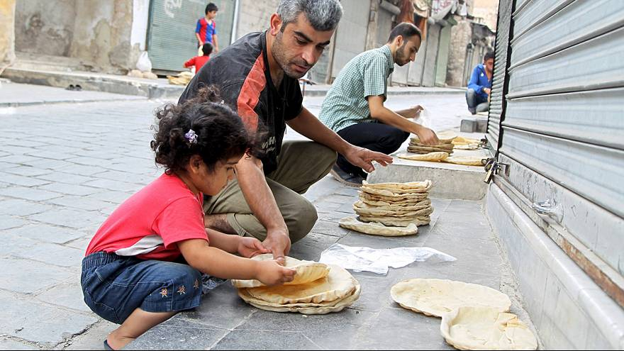 Suriye'de yetersiz gıda bebeklerin sağlığını tehdit ediyor