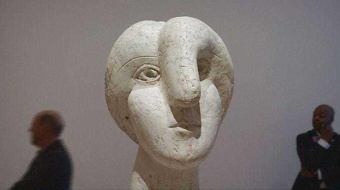 Picasso'nun heykelleri New York'ta sergileniyor