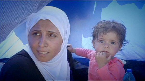 La esperanza de llegar al norte de Europa empieza en Lesbos