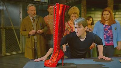 'Kinky Boots' hits London's West End