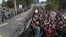 Migrant crisis: EU's open borders in question