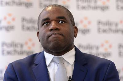 David Lammy is a lawmaker with the opposition Labour Party.