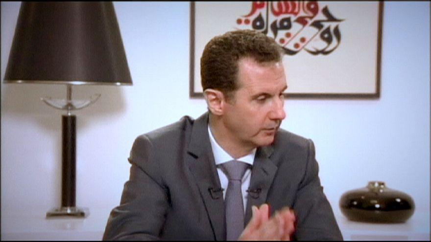 Башар Асад обвинил Европу в ведении политики двойных стандартов