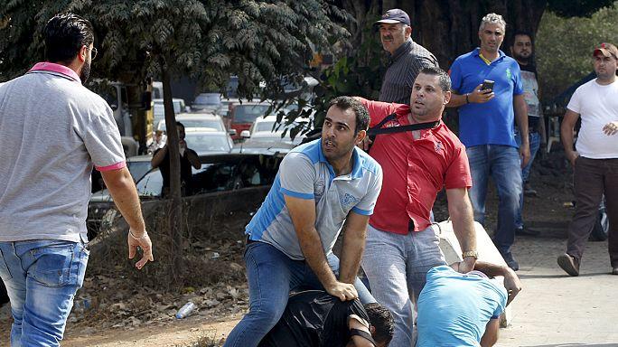 لبنان: مواجهات بين قوى الأمن ومتظاهرين تزامنا مع جلسة حوار سياسي