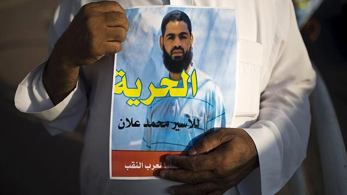 الفلسطيني محمد علان يستأنف إضرابه عن الطعام بعد إعادة اعتقاله