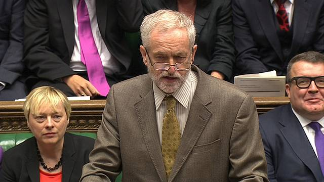 Jeremy Corbyn makes his first appearance as Leader of the Labour Party at Prime Minister's Question Time