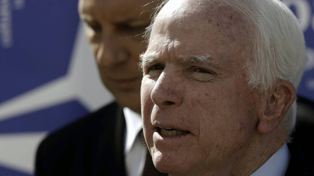 "Senator John McCain brands US military programme to train Syrian rebels an ""abject failure"""