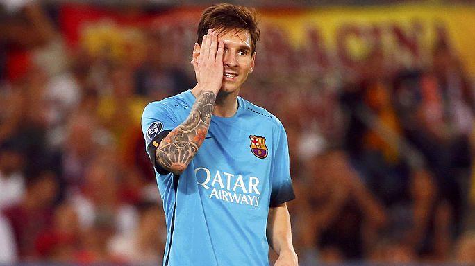 Félpályás gólt kapott a Barca Rómában