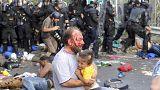 29 detenidos en los disturbios en la frontera entre Hungría y Serbia