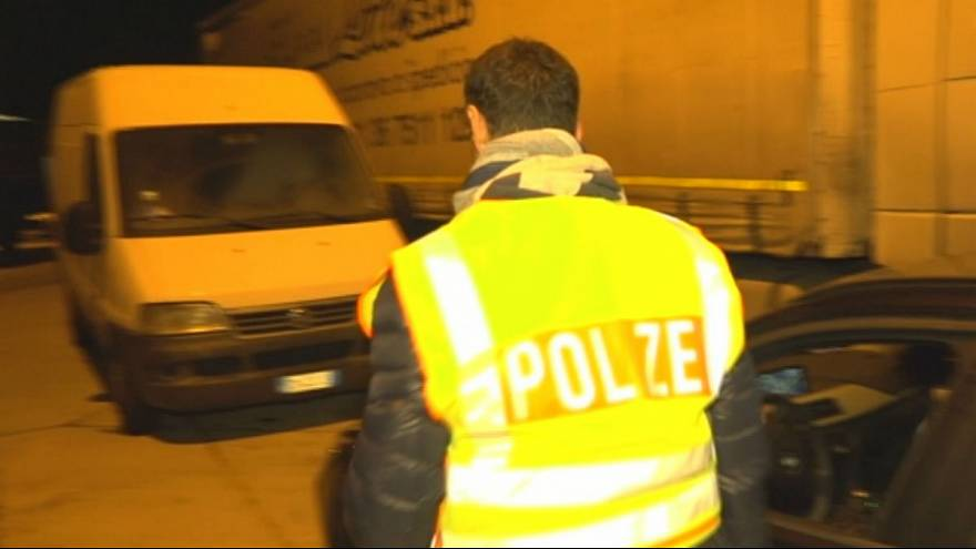 On patrol with Germany's elite anti-trafficking police