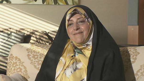 Iranian VP Ebtekar hopeful of new beginning for Iran