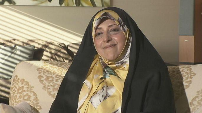 """نائبة الرئيس الإيراني ليورونيوز:"""" إيران تبحث عن نفس جديد في علاقاتها مع دول العالم """""""