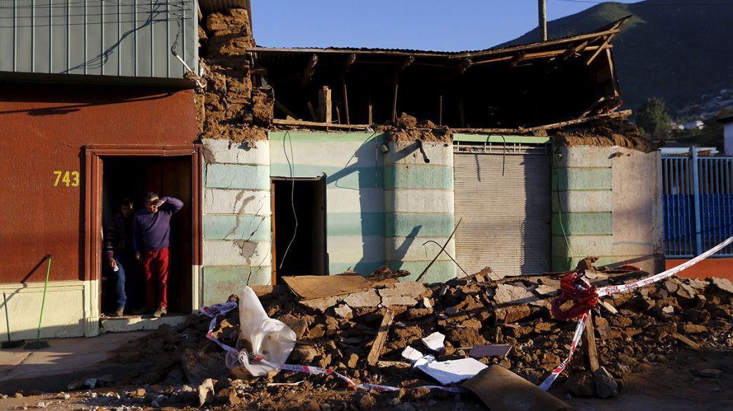 Levantado alerta de 'tsunami' no Chile após sismo que fez 10 mortos