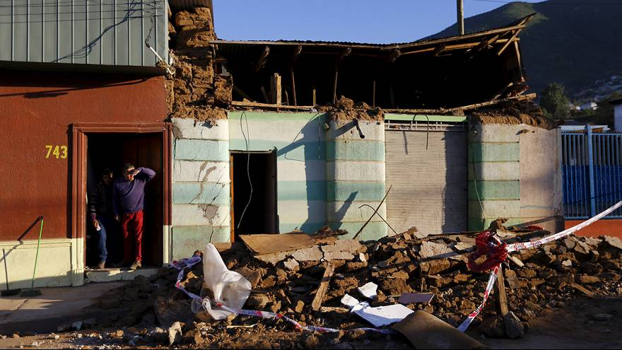Chile President Michelle Bachelet set to visit worst hit areas of Chile's 8.3 earthquake