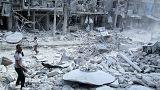 L'inviato dell'Onu a Damasco per discutere del piano di pace