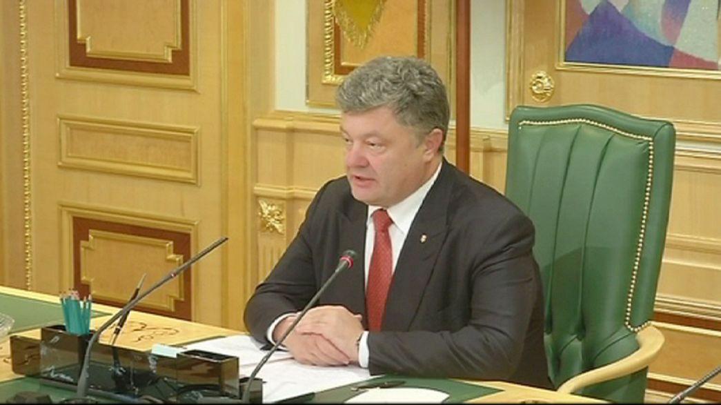 Poroshenko saca de la lista negra a varios periodistas occidentales