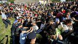 La Croatie débordée par l'arrivée massive de migrants