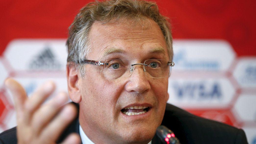 Le secrétaire général de la FIFA Jérôme Valke relevé de ses fonctions