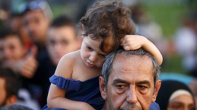 اللاجئون بين المانيا والنمسا