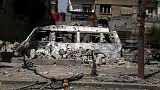 Un video amatoriale mostrerebbe le conseguenze di un attacco del regime siriano