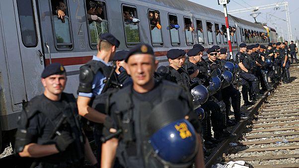 Hırvatistan'a ulaşan binlerce mültecinin bir sonraki durağı Slovenya