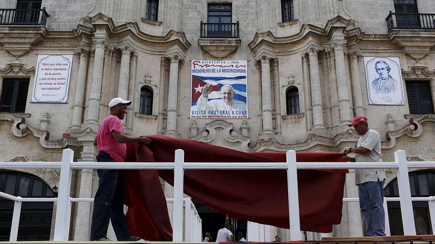 Cubans emotional ahead of papal visit