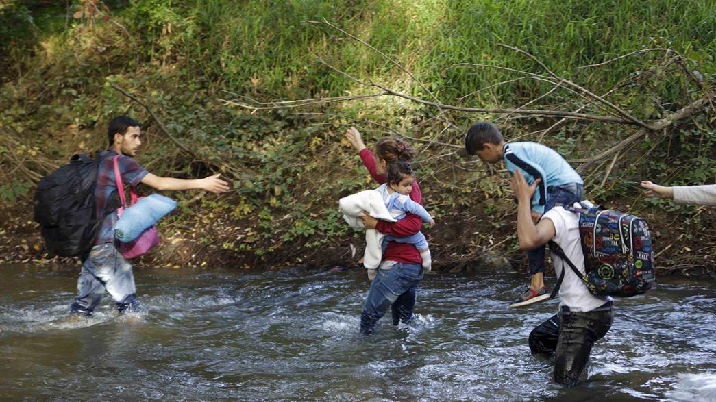 Refugiados: Eslovénia a braços com fluxo crescente