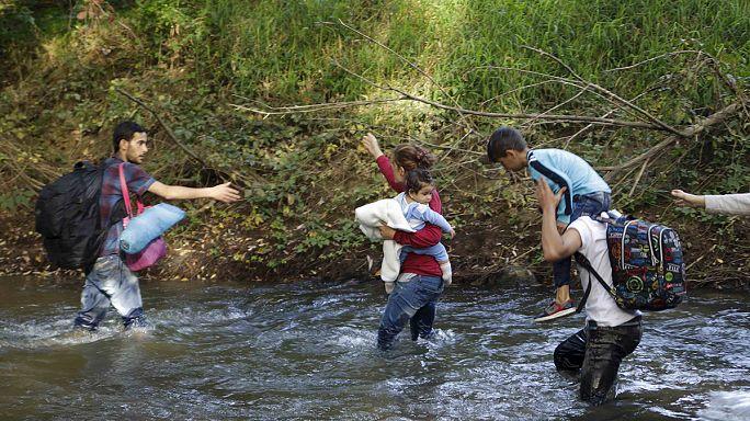 Eslovenia, siguiente parada obligada de los refugiados en su camino a la Europa próspera