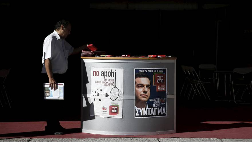 Greece election: Polls neck-and-neck ahead of Sunday's vote