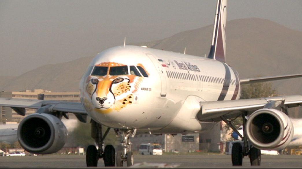Iran : une compagnie aérienne repeint des avions en guépard
