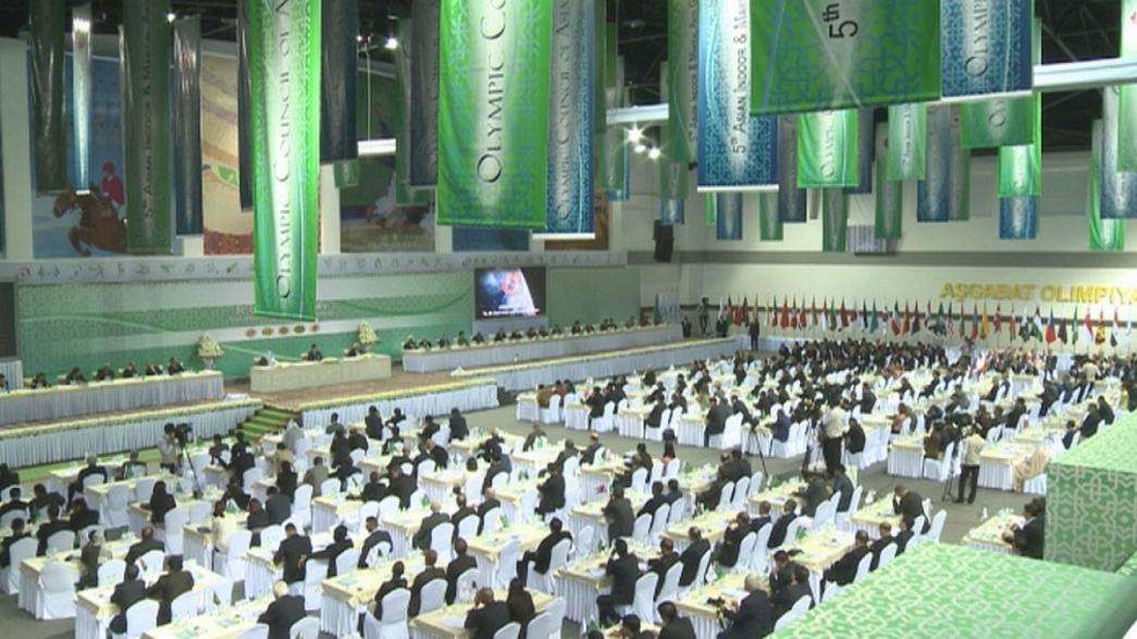 Turkmenistan: assemblea generale del Consiglio Olimpico asiatico