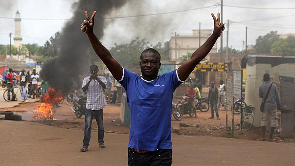 Presidente do Burkina Faso é libertado